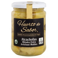 Alcachofa Entera 14-16 Frutos Extra Tarro-720 POT