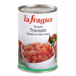 Tomate Troceado (Dados) Natural I Lata 5 kg
