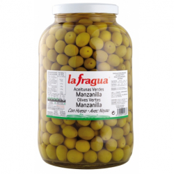 Aceitunas Rellenas de Anchoa 161/200 I Lata 1/2 kg