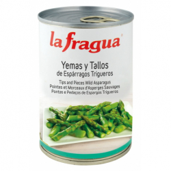 Yemas y Tallos de Espárragos Verdes I Lata 3 kg